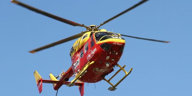 The Westpac Rescue Helicopter picked up three people from the Tararua Ranges after their personal locator beacon went off.