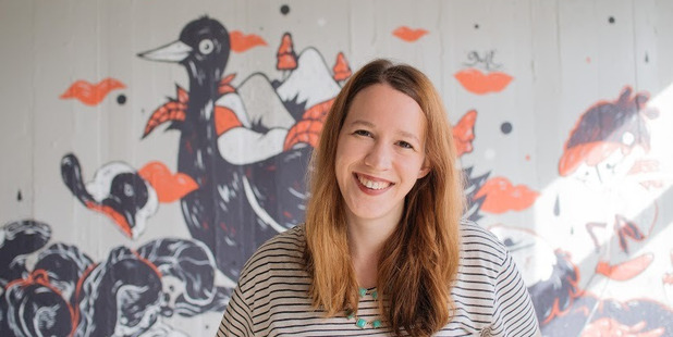 ACAPITAL GAINS: PledgeMe's Anna Guenther is running a workshop in Whanganui tomorrow.