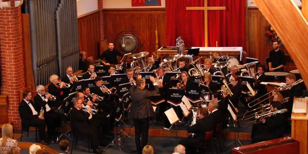 Brass Whanganui in concert