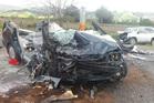 A man is dead following a head-on crash near Te Puke on Friday afternoon. Photo/ Stuart Whittaker