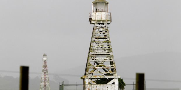 The historic beacons once used by ships coming into harbour are in need of a spruce-up, some locals say. HBT16262601 Warren Buckland