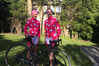 CYCLING FOR A GOOD CAUSE: Emma Mackie (left) and Marie Gillies are cycling from Cape Reinga to Bluff raising money for Breast Cancer.