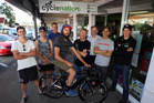 IDEAL MIX: The Vennell Coaching BP Cycling HB team which will tackle next week's Tour of Southland. PHOTO/PAUL TAYLOR