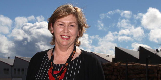 Business Hawke's Bay CEO Susan White said the region is firmly in growth mode. PHOTO/DUNCAN BROWN