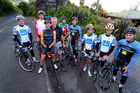 The Calder Stewart cycling team are being joined by Northlanders Jack Broome as team manager and Kevin McKenzie as team masseur for the Tour of Southland. Photo/John Stone