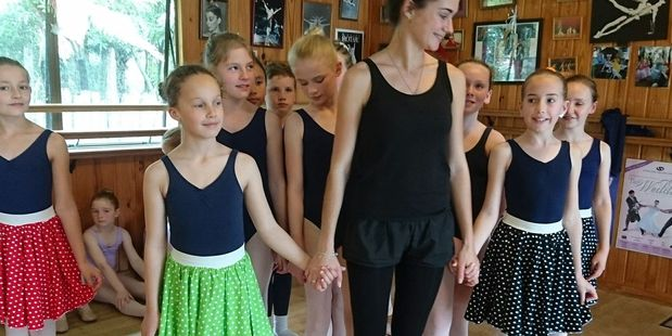 Russian ballet teacher Elena Zhelnina was in Hamilton last week to finalise the timing and acting of the parts played by students from the Valerie Lissette School of Dance.