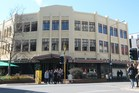 The three storey art deco building for sale at 191-195 Cuba St, Wellington.