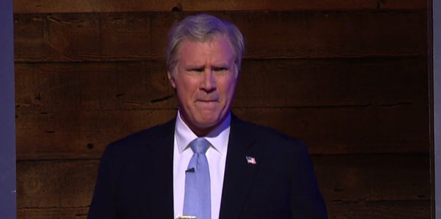 Will Ferrell as George W. Bush on Comedy Central. Photo / Comedy Central