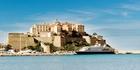 At Bonifacio in Corsica.