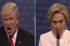 Alec Baldwin and Kate McKinnon go head-to-head a final time in their Saturday Night Live comedy sketch.
