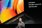 Apple senior vice president of worldwide marketing Phil Schiller speaks about the first overhaul of the MacBook Pro.
