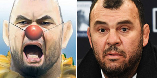 Loading Wallabies coach Michael Cheika was in no mood to play the role of gracious loser after the All Blacks' record-breaking 18th straight win.