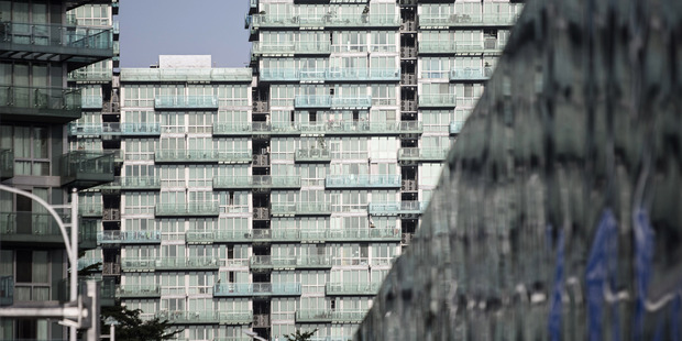 China's rising property prices this year have been inspiring such desperate measures, as frenzied buyers are seeking to act before further regulatory curbs are imposed. Photo / Bloomberg, Qilai Shen