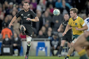Aaron Cruden in action during the Bledisloe Test match between the All Blacks and Australia played at Eden Park. Photo / Dean Purcell