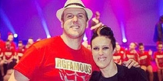Siblings Rebecca and Grant Davies ran the RG Dance Studio in Sydney before his arrest and imprisonment for child molesting. Photo / RG Studios Facebook