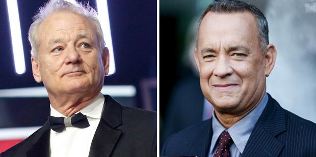 Is it Bill Murray or Tom Hanks? Photos / AP