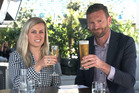 Laura and Tristram found out just what it takes to burn off a drink. Photo / NZH Focus