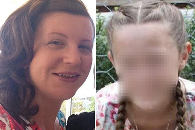 Ebony Goodchild (right) blames herself for the death of her mother Kate (left) after talking her into going on the ill-fated Thunder River Rapids raft ride at Dreamworld. Photo / Supplied