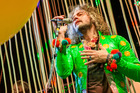Wayne Coyne, frontman for the Flaming Lips, who were billed as the headline act for Echo Festival.