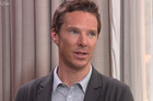 Benedict Cumberbatch is expecting a second child now and says he still trying to prove myself as a father. Photo / ITV