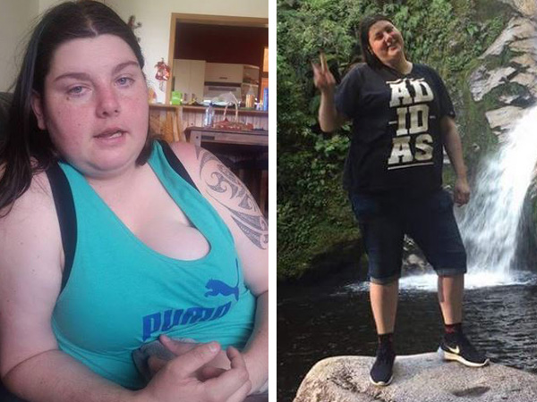 Janaya has a new outlook on life since her weight loss. Photos / Supplied