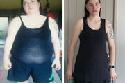 Janaya decided to turn her life around and dropped from a size 3XL to a medium. Photos / Supplied