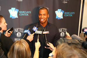 Former NBA player Jason Collins became the first publicly gay athlete to play in any of four major North American pro sports leagues. Photo / Getty