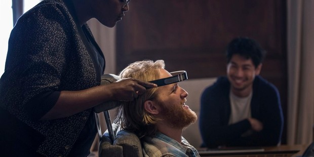 A scene from the Netflix series Black Mirror, episode Play Test. Photo / Netflix