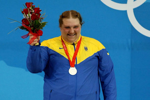 Olha Korobka of Ukraine has been stripped of her silver medal from the 2008 Olympics. Photo / Getty