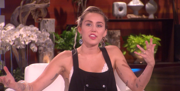 Miley Cyrus says her engagement ring isn't really her style.