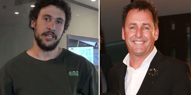 Loading Jordan Watson and Mike Hosking. Photos / Facebook, Herald on Sunday