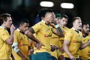 The Wallabies react to the Eden Park defeat. Photosport