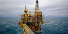 An offshore gas platform operated by Statoil in the North Sea 140km from Bergen, Norway. Photo / Kristian Helgesen