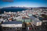 The view of downtown Reykjavík, in Iceland. Photo / Jabin Botsford at Washington Post
