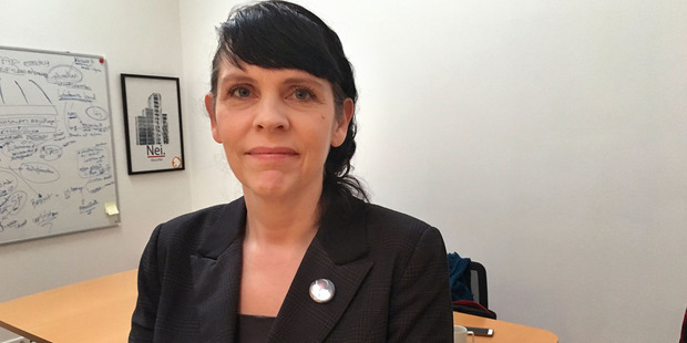 The rise of the party - from radical fringe to focal point of Icelandic politics - has astonished even the party's founder, Birgitta Jonsdottir. Photo / Griff Witte at Washington Post