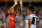 In the NRL, punching leads to an obligatory 10 minutes on the sidelines. Photo /Getty