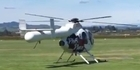 Watch: Phil Rudd's record producer arrives by helicopter