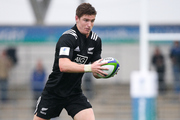 Jordie Barrett, pictured playing for the All Black Under 20 side. Photo / Getty