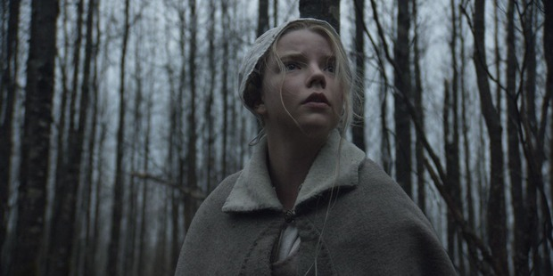 Anya Taylor-Joy in a scene from the movie The Witch.