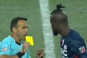 Watch: Footballer booked for 'twerking'