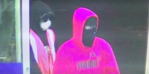Police are hunting three people who robbed the Night'n Day store, in Woolston in Christchurch, early this morning. Photo / NZ Police