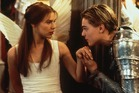 A scene from the movie, Romeo + Juliet.