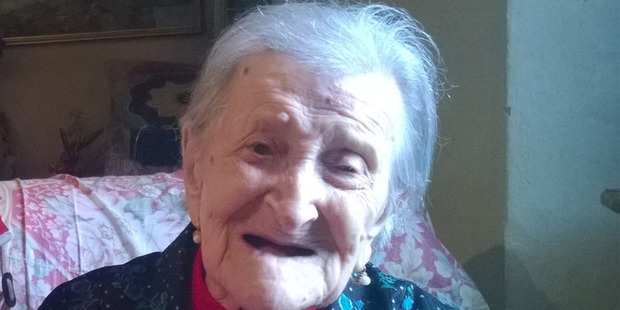 On November 27th Emma Morano will turn 117. She credits eggs as the secret behind her longevity. Photo / Supplied.