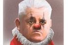 Lions coach Warren Gatland as captured by Herald cartoonist Rod Emmerson.