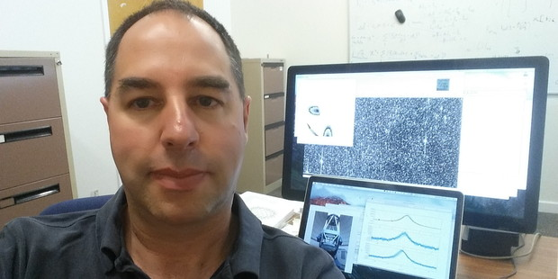 A new study led by Canterbury University's Associate Professor Michael Albrow (pictured) will try to discover just how many planets there are in our Milky Way galaxy. Photo: Michael Albrow