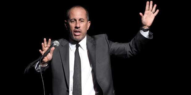 Loading Comedian Jerry Seinfeld performs onstage. Photo / Getty Images