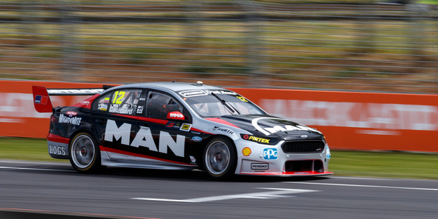 Fabian Coulthard of DJR Team Penske during the ITM Auckland SuperSprint. Photo / Supplied