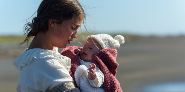 A scene from the film, The Light Between Oceans.