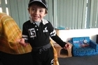 Five year old special needs boy Jonty Payne had a special day today after the local community rallied to give him a  birthday to remember