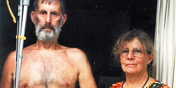Robin and Lois Dudding in the late 1990s, by which time the cold war had defrosted somewhat.
